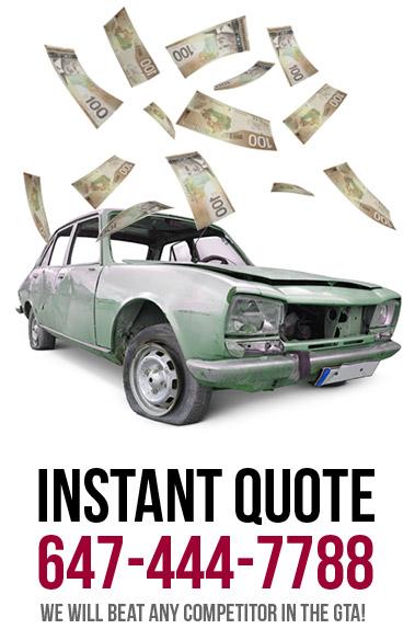 cash for scrap car in Scarborough